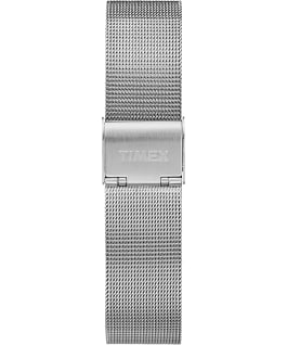 Fairfield 37mm Mesh Stainless Steel Watch Silver-Tone/White large
