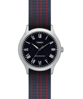 Whitney Avenue 36mm Reversible Grosgrain Strap Watch  large