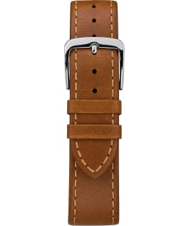 Southview 41mm Leather Watch Chrome/Tan/Blue large