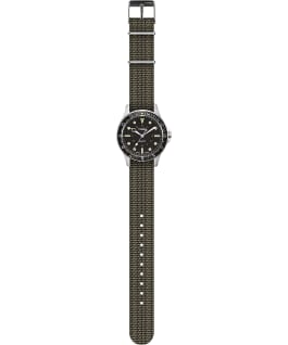 Navi Harbor 38mm Fabric Strap Watch Olive/Olive large