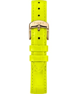 Waterbury Womens Neon Gold-Tone/Green/White large