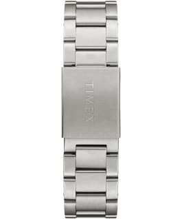 Allied 40mm Stainless Steel Bracelet Silver-Tone/Stainless-Steel/Green large
