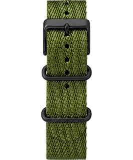 Zegarek Standard Chronograph z kopertą 41 mm i paskiem materiałowym Czarny/Zielony large