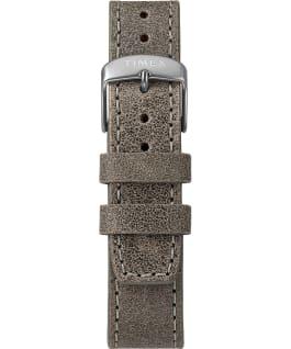 Zegarek Allied LT z kopertą 40 mm i skórzanym paskiem Srebrny/Szary/Czarny large