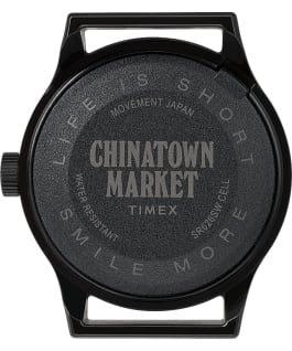 Timex x Chinatown Market MK1 36mm Resin Strap Watch Black/Yellow large