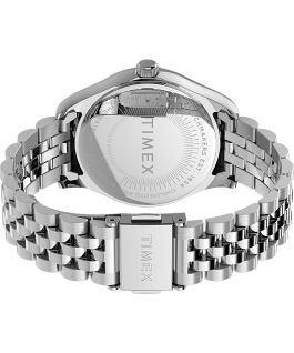 Waterbury Legacy 34mm Stainless Steel Bracelet Watch Silver-Tone/Green large