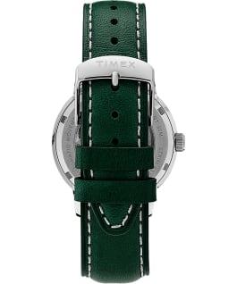 Marlin Automatik mit Lederarmband und Datumsanzeige, 40mm Edelstahl/grün large