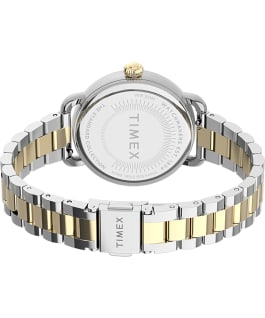 Standard 34mm Stainless Steel Bracelet Watch Silver-Tone/Two-Tone large
