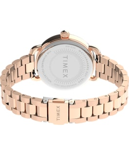 Standard 34mm Stainless Steel Bracelet Watch Rose-Gold-Tone/Silver-Tone large