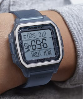 Command-Urban-47mm-Translucent-Resin-Strap-Watch, Translucent/Blue, large