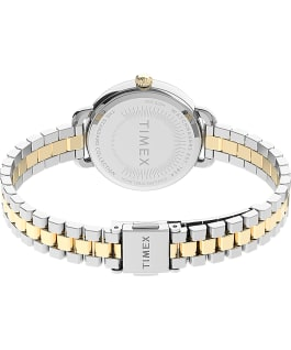 Timex Standard Demi 32mm Stainless Steel Bracelet Watch Silver-Tone/Two-Tone/White large