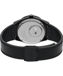 Orologio reissue Q Timex da 38mm con bracciale in acciaio Black/Stainless-Steel/Black large