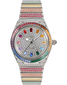 Timex x Judith Leiber 38mm Stainless Steel Bracelet Watch, Stainless-Steel/Other, large