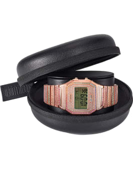 Timex x Judith Leiber 35mm Stainless Steel Bracelet Watch, Rose-Gold-Tone, large