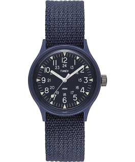 MK1 36mm Resin with Nylon Strap Watch Blue large