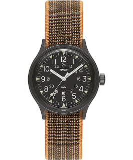 MK1 36mm Resin with Nylon Strap Watch Black large