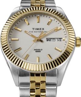 Waterbury Legacy Boyfriend 36mm Stainless Steel Bracelet Watch, Two-Tone/Gold-Tone, large
