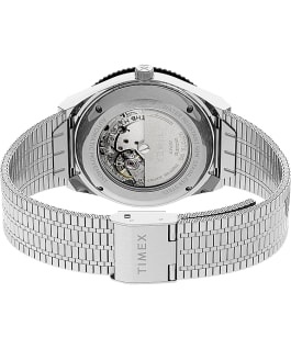 Orologio M79 Automatic 40 mm con bracciale in acciaio Stainless-Steel/Black/Red large