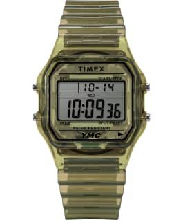 Timex x YMC 34mm Resin Bracelet Watch Green large