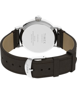 Timex Standard x Peanuts Featuring Snoopy Thanksgiving Silver-Tone/Brown large