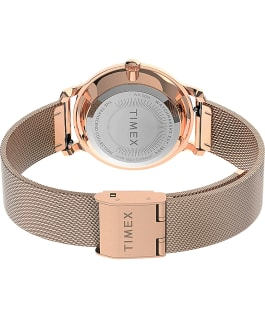 Transcend Malibu 31mm Stainless Steel Mesh Band Watch Rose-Gold-Tone/Silver-Tone large