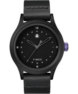Timex x Ghostly Black/Black large