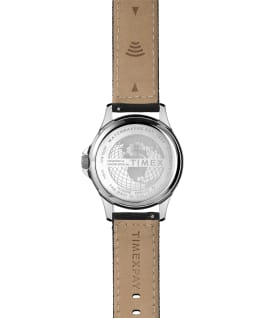 Navi XL with Timex Pay 41mm Fabric Strap Watch Silver-Tone/Black large