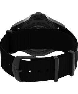 Expedition North Field Post Solar 41mm Recycled Fabric Strap Watch Gunmetal/Black large
