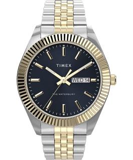 Waterbury Legacy 41mm Stainless Steel Bracelet Watch Two-Tone/Blue/Gold-Tone large