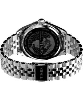 Waterbury Legacy 41mm Stainless Steel Bracelet Watch Stainless-Steel/Orange large