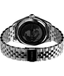 Waterbury Legacy 41mm Stainless Steel Bracelet Watch Stainless-Steel/Green large
