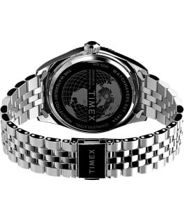 Waterbury Legacy 41mm Stainless Steel Bracelet Watch Stainless-Steel/Blue large