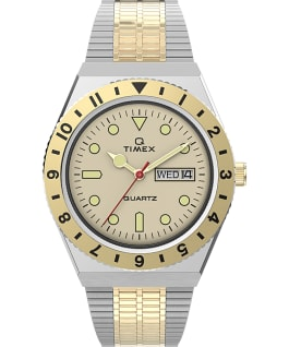 Q Timex Reissue 38mm Stainless Steel Bracelet Watch Stainless-Steel/Two-Tone large