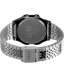 Timex T80 x Coca Cola Unity Collection 34mm Stainless Steel Bracelet Watch Silver-Tone/Stainless-Steel large