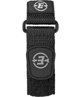 Expedition Basic Digital 41mm Slip Thru Nylon Strap Watch Gray/Black large