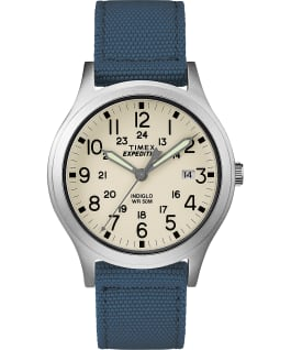 Expedition Scout 36mm Fabric Strap Watch Blue large