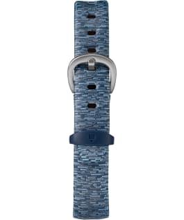 IRONMAN Classic 30moyenne 34mm, grande, bracelet en résine à motif bleu/gris