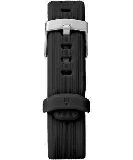 IRONMAN GPS 38mm, grande, bracelet en silicone noir/gris