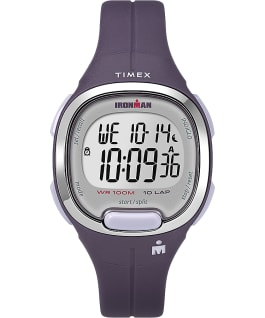 Ironman Transit 10 33mm Mid-Size Resin Strap Watch Purple/Silver-Tone large