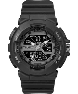 The HQ DGTL 50MM Resin Strap Combo Watch Black large