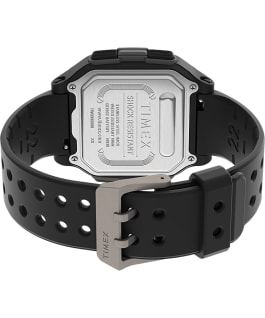 Command Urban 47mm Resin Strap Watch Black large