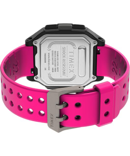 Command Urban mit Kunstharzarmband, 47 mm Pink large