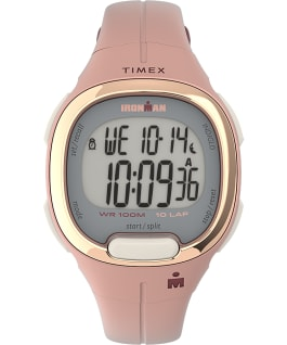 Ironman Transit 10 33mm Mid-Size Resin Strap Watch Pink/Rose-Gold-Tone large