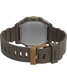 Command LT 40mm Silicone Strap Watch Brown large