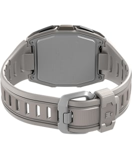 TIMEX IRONMAN T300 Silicone Strap Watch White/Black large