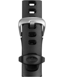 Grand bracelet en résine Ironman 18mm noir