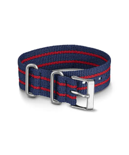 20mm Nylon Strap 3 Blue large