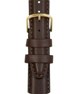 Grand bracelet en cuir brun pour hommes 18mm