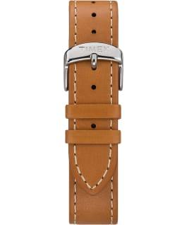 Grand bracelet de remplacement en cuir havane 20mm