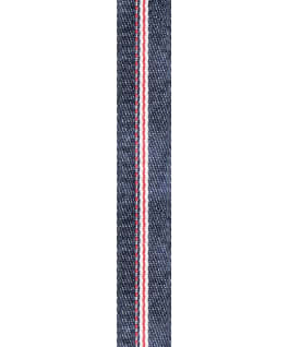 Stone Washed Selvedge Ribbon Denim Slip-Thru Strap  large